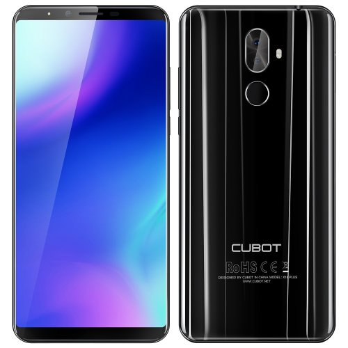 CUBOT X18 PLUS - 5.99 Inch FHD+ (2160 x 1080) (18:9 ratio) Android 8.0 4G smartphone, Octa-Core 1.5GHz 4GB + 64GB, triple camera (20MP+2MP+13MP),...