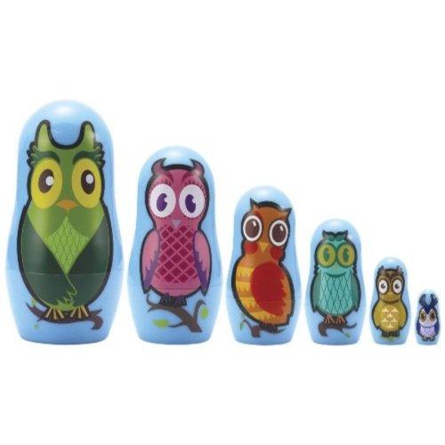 Matryoshka Madness Micro-Owl Matryoshka