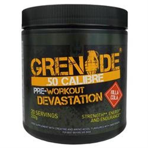Grenade Grenade .50 Calibre Pre-workout Now Available in Delicious Cola F