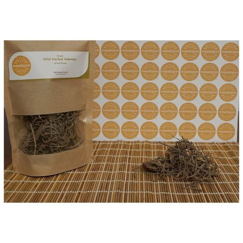 Greek Wild Herbal Relaxation Valerian Dried Roots 100gr / 3.52oz