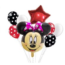 Minnie Mouse Party Balloon Set of 8 Balloons