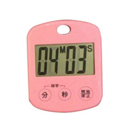 Portable Mini Kitchen Timer,Cute Children's Student Timer,Gym,School,F06