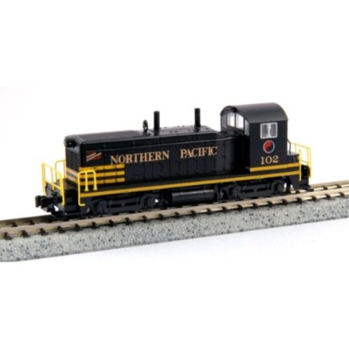 Kato USA Model Train Products EMD NW2 #102 Northern Pacific N Scale Train