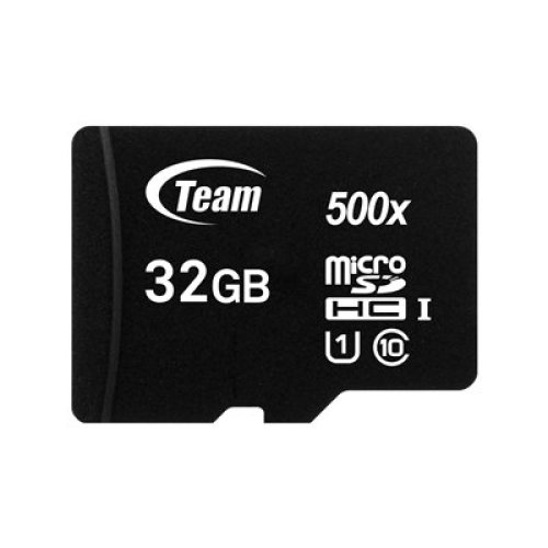 Team 32Gb Micro Sdhc Class 10 Uhs-I Flash Card With Adapter TUSDH32GCL10U03