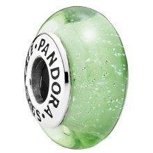 Pandora Disney Tinker Bell's Signature Color Murano Glass Charm - 791639