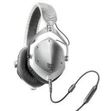 V-MODA Crossfade M-100 Over-Ear Noise-Isolating Metal headphones - White Silver
