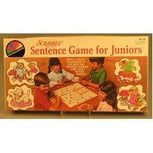 Scrabble Sentence Game for Juniors