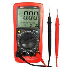 UNI-T UT58A AC/DC DMM Digital Multimeters with Voltage Current Resistance Capacitance Tester w/Data Hold Multimetro