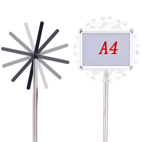 A4 Display Adjustable Poster Stand Advertisement Sign Holder