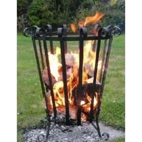HOMESTEAD & GARDEN Patio/Terrace Fire Basket/Brazier UK HANDMADE outdoors heater