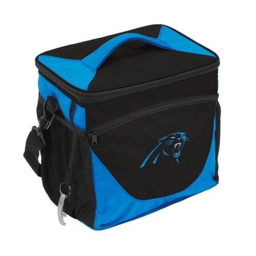 Logo Brands 605-63 Carolina Panthers 24 Can Cooler