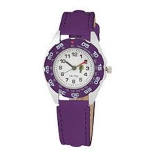 Cactus Gift Set USB Band Purple Strap Boys Watch CAC-37-M09