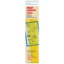 "Yarn Tree Static Cling High Lighter Guides 6""X1"" 3/Pkg-Yellow"