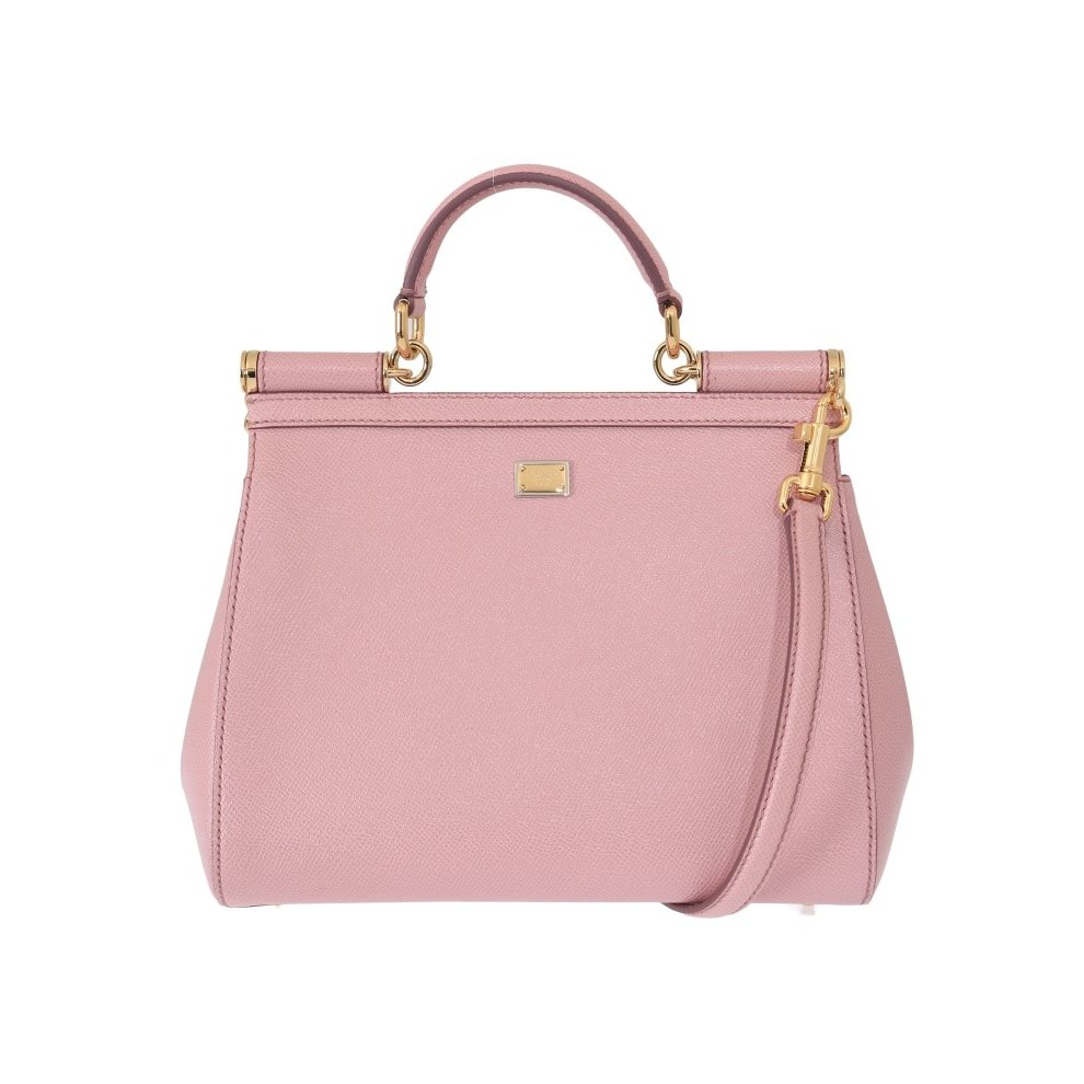 b4d295941a Dolce & Gabbana Pink FAMILIA Leather Dauphine Crystal Bag on OnBuy