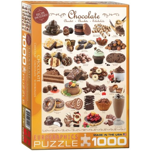 Eg60000411 - Eurographics Puzzle 1000 Pc - Chocolate