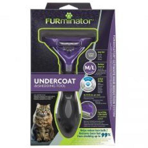 Furminator Undercoat Deshedding Tool For Medium/large Short Hair Cat