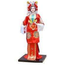 Traditional Chinese Doll Peking Opera Performer - Xue Xiang Ling
