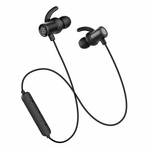 f834a16af3b Bluetooth Earphones Super Bass, SoundPEATS Wireless Headphones In-Ear  Sports Sweatproof IPX6 Earbuds 10mm Drivers Hi-Fi Magnetic Running Gym...  on OnBuy