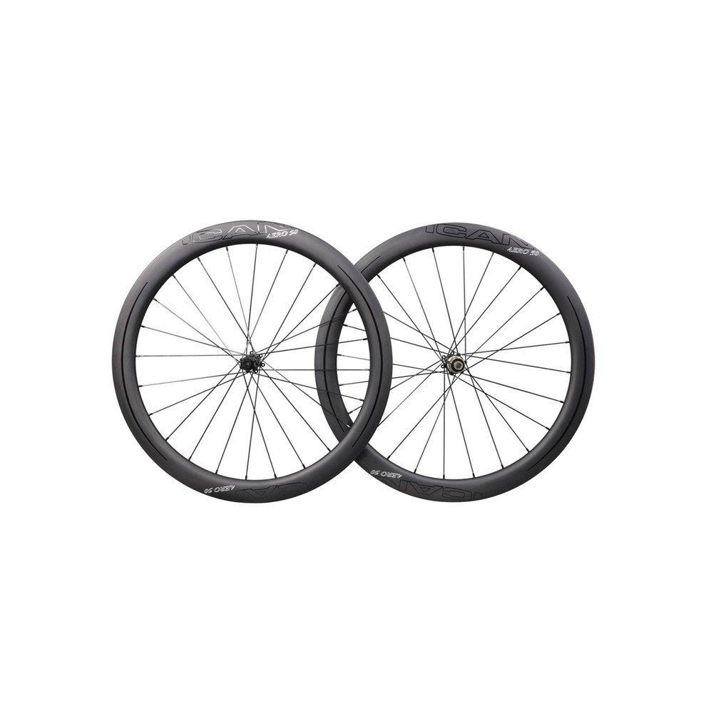 ICAN Carbon Road Bike Wheels AERO 50 Disc on OnBuy