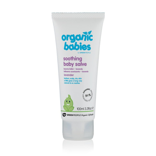 Green People Soothing Baby Salve - Lavender 100ml
