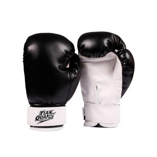 Boxing Gloves Sandbag Gloves Fighting , Training black Gloves thicken kids