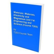Materials: Materials, Electricity and Magnetism Unit 7-8: Engineering and Science (Course T203)