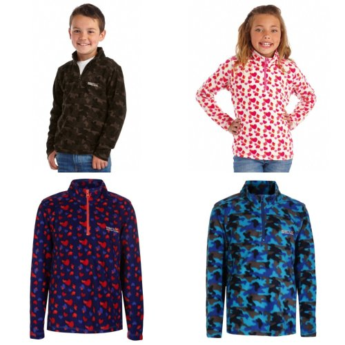 Regatta Great Outdoors Kids Outdoor Classics Lovely Jubblie Fleece Top