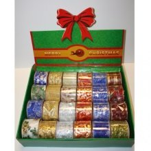 Box Christmas Ribbons 6cm x 2m - Accessories 993240