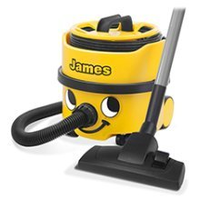 Numatic James Vacuum JVP180 | Cylinder Vacuum Cleaner - Yellow
