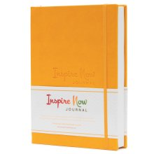 INSPIRE NOW JOURNAL – A5 Daily Productivity Daily Organiser (Mustard Yellow)