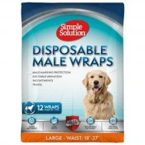 Simple Solution Disposable Male Wrap Large
