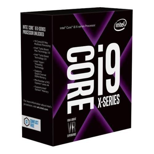 Intel Core I9-7920X CPU, 2066, 2.9GHz (4.3 Turbo), 12-Core, 140W, 16.5MB Cache, Overclockable, No Graphics,  NO HEATSINK/FAN