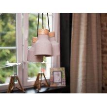 Ceiling lamp - Lighting - 3 Light Pendant - Grey and Brown - BAHT