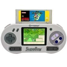 SupaBoy Portable Pocket SNES Handheld Compatible Console