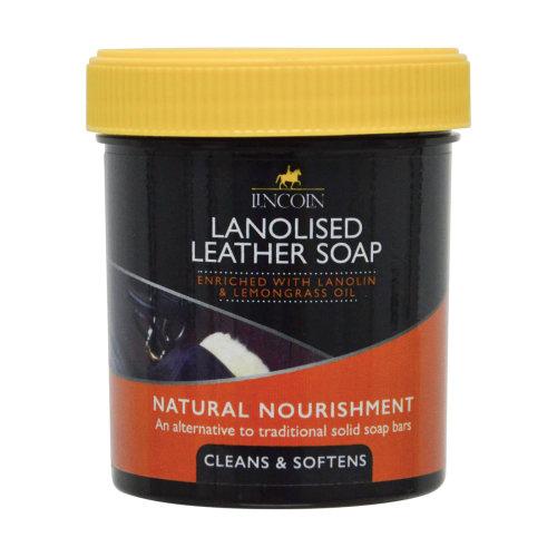 Lincoln Lanolised Saddle Soap - 200gm