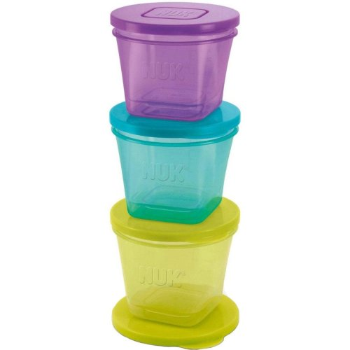 Annabel Karmel by NUK 6 Food Stackable Pots
