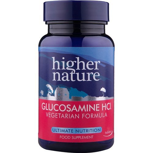 Higher Nature  Vegetarian Glucosamine Hydochloride 30s