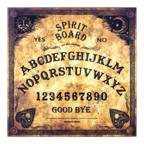 Ouija spirit Board 36cm Traditional Design Ghost Hunting