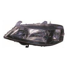 Vauxhall Astra G Mk4 Hatchback 1998-2004 Black Headlight Lamp Passenger Side N/S