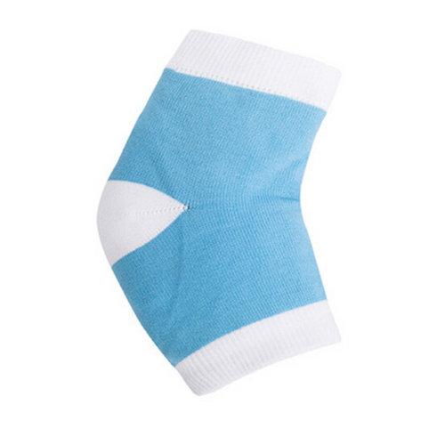 Blue Heel Sleeve Soft Socks Heel Protector Foot Arch Support