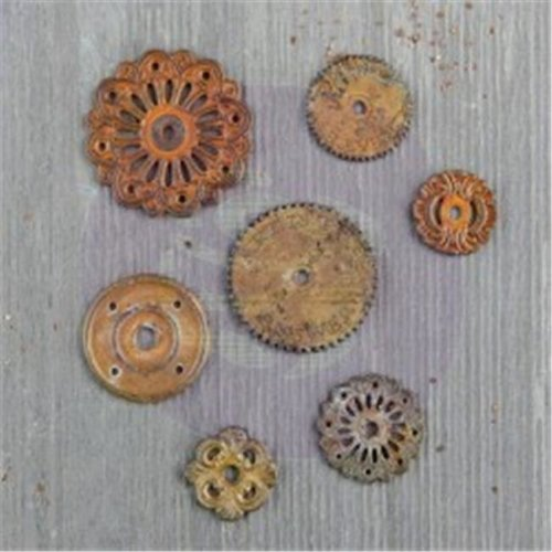 Finnabair Mechanical Embellishment - Rustic Washer