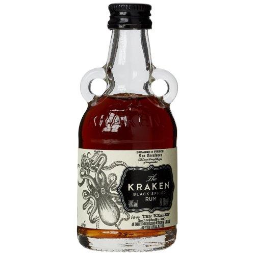 The Kraken Black Spiced Rum Miniature Bottles