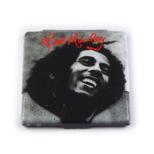 Bob Marley Black & White Cigarette Case