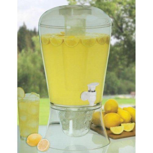 Babz Cold Beverage Dispenser with Ice Storage - 8 litres volume