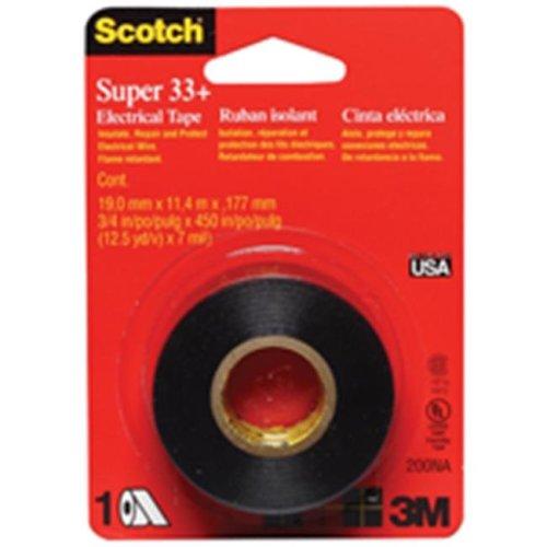 3M 200 Super 33 Plus Electrical Tape  75 x 450 In