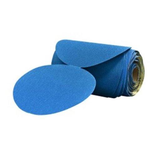 3M 3M-36207 6 in. Stikit Blue Abrasive Disc Roll, 220 Grade