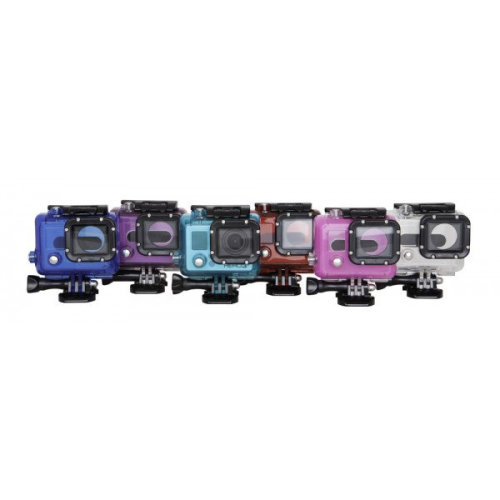 Urban Factory Waterproof Case Blue: for GoPro Hero3 and 3+ cameras