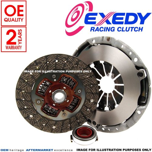 FOR HYUNDAI COUPE ELANTRA 2.0 GLS CRDi EXEDY 3 PIECE CLUTCH KIT BEARING 215mm