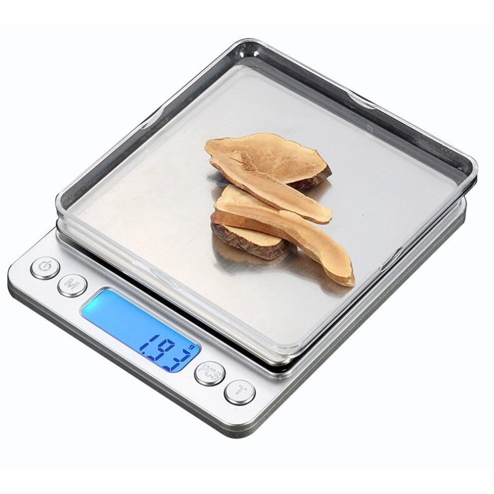 Cestmall stainless steel digital kitchen scales500g 0 001oz 0 01g high precision