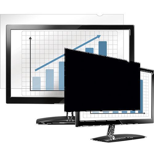 "Fellowes PrivaScreen 18.5"" Monitor Frameless display privacy filter"